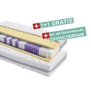 Taschenfederkernmatratze Visco Dream 90x200cm H3 - Weiß, KONVENTIONELL, Textil (90/200cm) - Primatex Deluxe