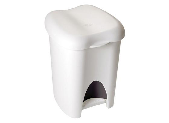 Odpadkový Kôš Sada Laura - čierna/biela, plast (31/29/39cm)