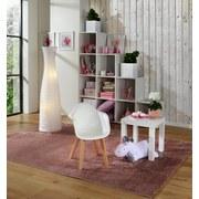 Detská Stolička Bambino - biela/farby brezy, Moderný, umelá hmota/drevo (42/57,5/30cm) - Ombra