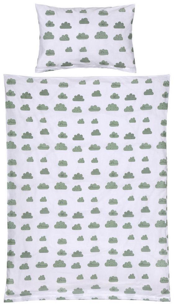 Detská Posteľná Bielizeň Leonie -ext- - zelená/ružová, Konvenčný, textil (100/135cm) - Mömax modern living