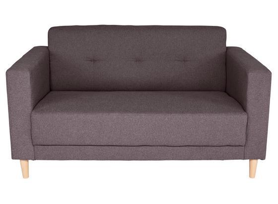 Pohovka Geneve - antracitová, Moderný, textil (148/81/75cm)
