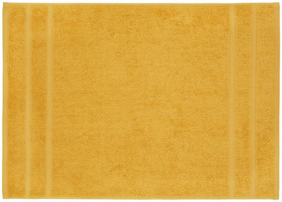 Předložka Koupelnová Melanie - žlutá, textilie (50/70cm) - Mömax modern living