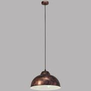 Hängeleuchte Truro 2 H: 110 cm 1-Flammig Im Retro-Design - Kupferfarben, LIFESTYLE, Metall (37/110cm)