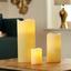 Kerze mit Led Melina 10 cm - Naturfarben, ROMANTIK / LANDHAUS (7,5/10cm) - James Wood