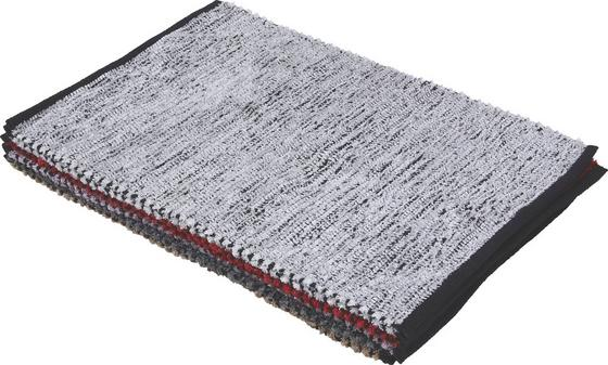 Vorleger Albin - Beige/Lila, KONVENTIONELL, Textil (60/90cm)
