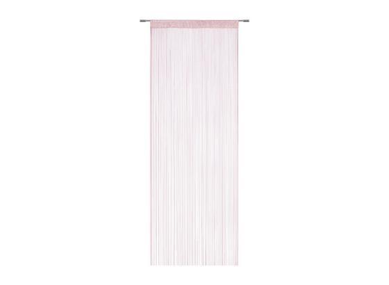 Fadenstore Marietta - Rosa, KONVENTIONELL, Textil (90/245cm) - Ombra
