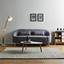 Pohovka Jannike - tmavosivá, Moderný, drevo/textil (207/84/80cm) - Modern Living
