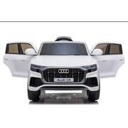 Kinderauto Audi Q8 Ride On Weiß - Weiß, Basics, Kunststoff/Metall (108/66/55cm)