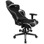 Gamingstuhl DX Racer Racing Pro - Schwarz/Weiß, Design, Kunststoff/Textil (55/122-134/59cm) - Dxracer
