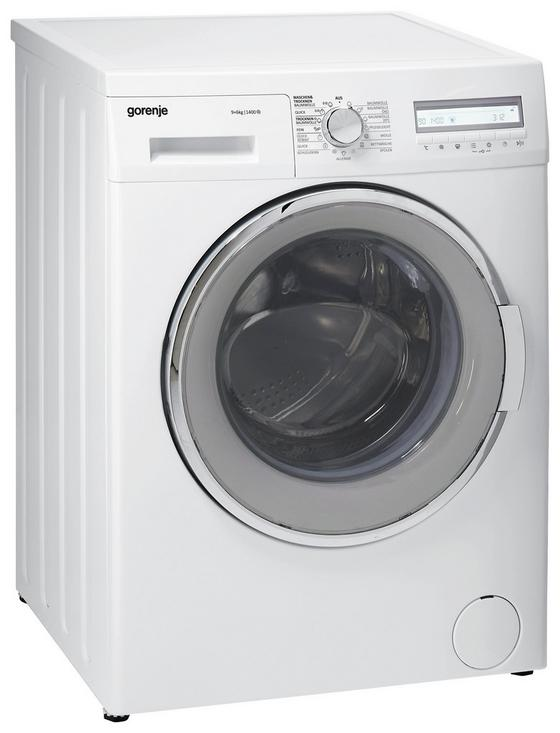Gorenje Waschtrockner Wd94141de - Weiß, KONVENTIONELL, Kunststoff (59,7/84,5/58,2cm) - Gorenje