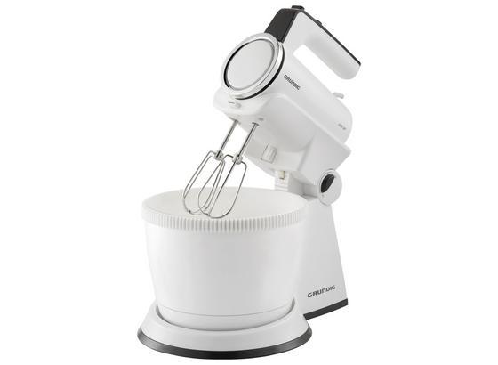 Handmixer-Set mit Rührschüssel - Schwarz/Weiß, Basics, Kunststoff - Grundig