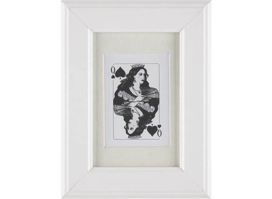 Rám Na Obrazy Provence - bílá, Romantický / Rustikální, dřevo/sklo (10/15/2cm) - Mömax modern living
