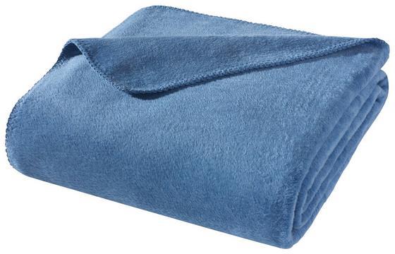 Wohndecke Hani 150x200 cm - Blau, MODERN, Textil (150/200cm)