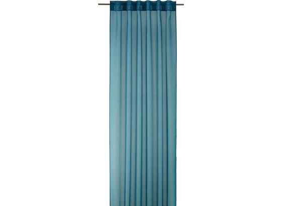 Záves Tosca 2 Ks -eö- - petrolejová, textil (140/245cm) - Mömax modern living