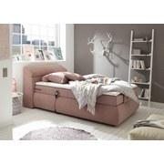 Boxspringbett Verstellbar 120x200cm London 3, Anthrazit - Anthrazit, KONVENTIONELL, Textil (120/200cm) - Esposa