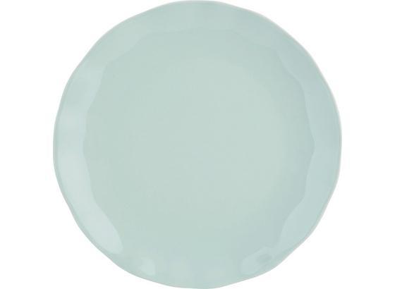 Talíř Dezertní Pauline - mátově zelená, Romantický / Rustikální, keramika (19cm) - Zandiara