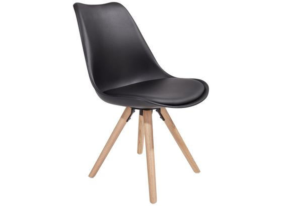 Stuhl levi schwarz online kaufen m belix - Stuhl holz schwarz ...