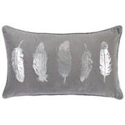 Zierkissen Hardin - Grau, MODERN, Textil (30/50cm) - Luca Bessoni