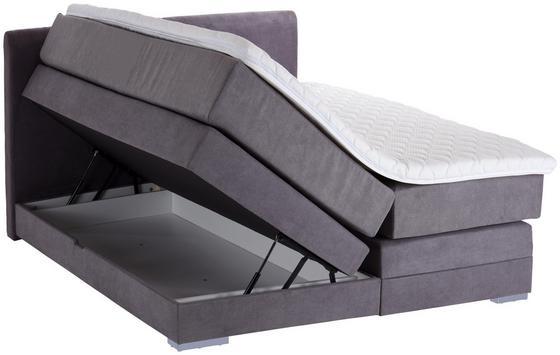 Verstellbares Boxspringbett für zwei Personen