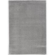 Hochflorteppich Soft, 140/200 - Silberfarben, MODERN, Textil (140/200cm)