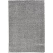 Hochflorteppich Soft, 80/150 - Silberfarben, MODERN, Textil (80/150cm)