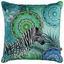 Zierkissen-Doubleface Talisa - Blau/Multicolor, Textil (48/48cm)