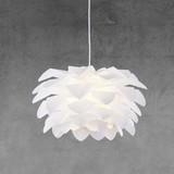 Závěsné Svítidlo Tania - bílá, Moderní, umělá hmota (52cm) - MODERN LIVING