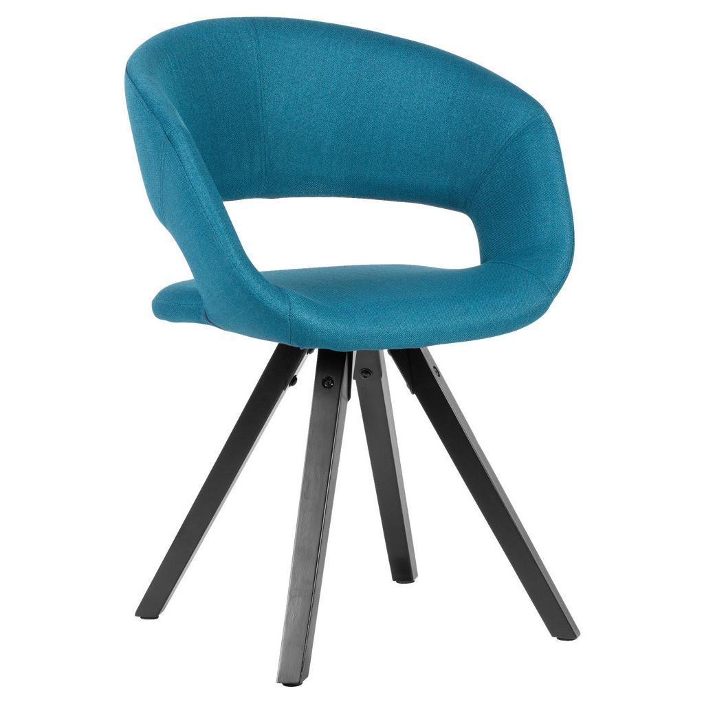 Židle s Opěrkou Armlehnstuhl Modrá