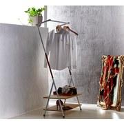 Kleiderständer Scandic Vi 80cm Weiss - Weiß, MODERN, Kunststoff/Metall (80/160/40cm)