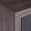 Komoda Frame - farby dubu/biela, Konvenčný, kompozitné drevo (122/75/42cm)