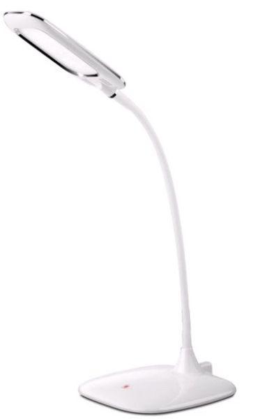 Asztali Lámpa Diana - fehér, konvencionális, műanyag (17,5/17,5/56cm) - LUCA BESSONI