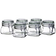 Einmachglas-Set ca. 500ml - Transparent, Basics, Glas (500ml)