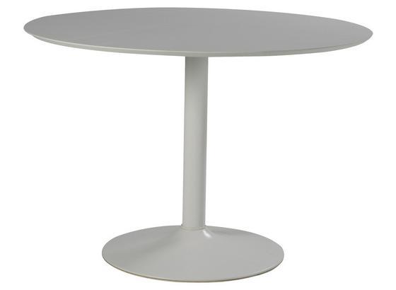 Esstisch Ibiza B: 110 cm Weiß - Weiß, Design, Holzwerkstoff/Metall (110/110/76cm) - Livetastic