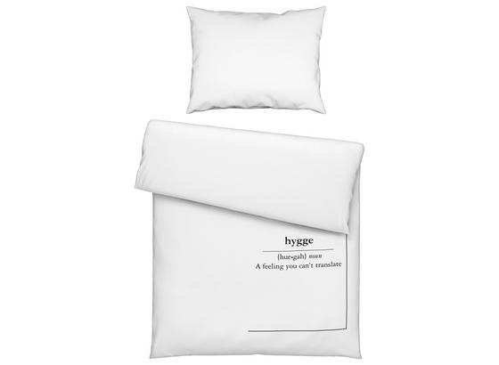 Posteľná Bielizeň Hygge - biela, Moderný, textil (140/200cm) - Premium Living