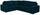 Wohnlandschaft in L-Form Giovanni 217x277cm - Türkis/Chromfarben, MODERN, Holz/Textil (217/277cm) - Ombra