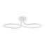 LED-Deckenleuchte Harmonie - Weiß, MODERN, Kunststoff/Metall (56/24/15cm)