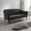 Dvoumístná Pohovka Florentina - tmavě šedá, Moderní, dřevo/textil (170/84/73cm) - Modern Living