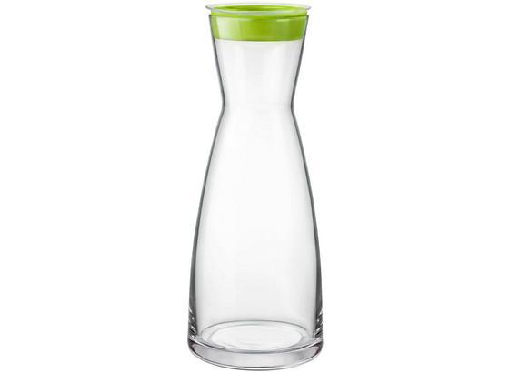 Karafa Na Vodu Brio - oranžová/bílá, sklo (1l) - Mömax modern living