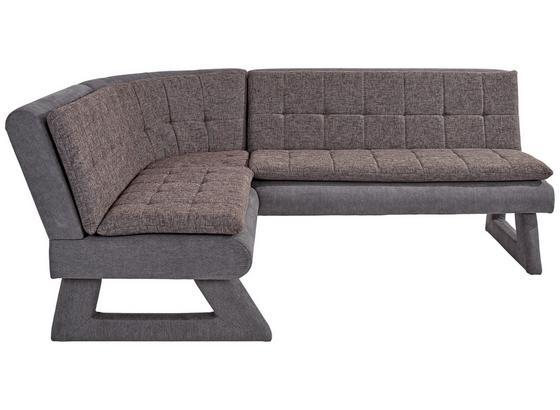 eckbank anders hellgrau schwarz modern holz textil 170 220cm