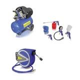 Kompressorenset S17012 - Blau, MODERN, Kunststoff - Erba