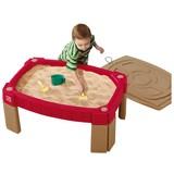 Sand- und Wassertisch Step2 Np - Beige/Rot, MODERN, Kunststoff (91,5/91/66cm)