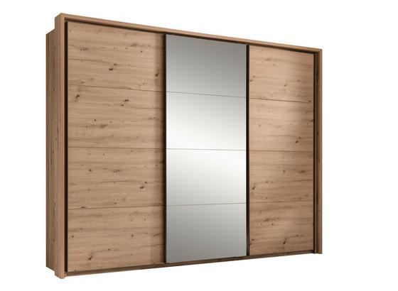 Paspartový Rám Orlando - farby dubu, Moderný, kompozitné drevo (280/215/17cm)