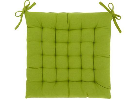 Sedák Anke - zelená, textil (40/40cm) - Mömax modern living
