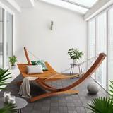 Záhradní Relaxační Lehátko Eliza - barvy teak, Moderní, dřevo (390/118/106cm) - Mömax modern living