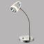 LED-Tischleuchte Tara - Chromfarben, MODERN, Kunststoff/Metall (21/12,5/38cm)