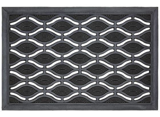 Rohožka Weaves - čierna, Basics, plast (40/60cm) - Mömax modern living