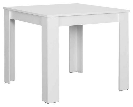 Quadratischer Esstisch in Weiß