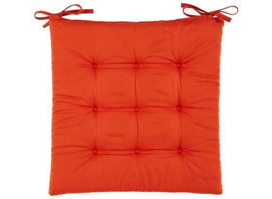 Sedací Polštář Lola -based- -top- - terra cotta, textil (40/40/2cm) - Based