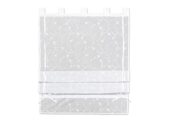 Provázková Roleta Romantic, 100/140cm, Bílá - bílá, Romantický / Rustikální, textil (100/140cm) - Mömax modern living