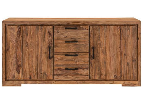 Sideboard B: ca. 176 cm Naturfarben - Naturfarben, Basics, Holz/Holzwerkstoff (176/85/45cm)